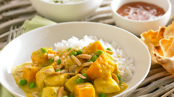 Creamy Chicken & Pumpkin Curry